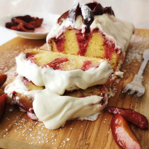 Poke Zwetschgen Cake