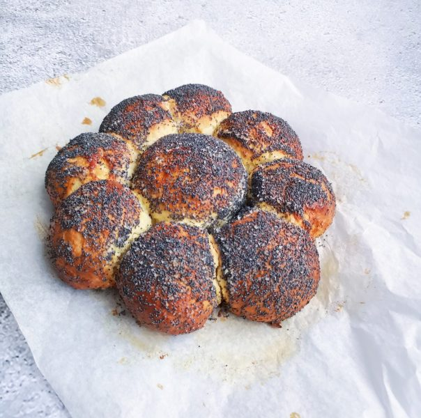 Mohn-Zitronen-Dreikönigskuchen