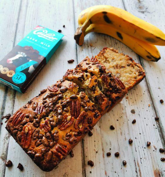 Schokolade-Bananenbrot