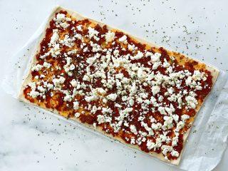 Pizza, Feta, Tapenade, Apero