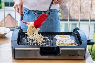 Okonomiyaki, japanisch, Ei, Nudeln, Weisskohl, Teig