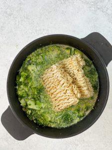 Thai, Ramen, Suppe, Gemüse, Tofu