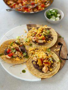 Fajita, Mexikanisch, Gemüse